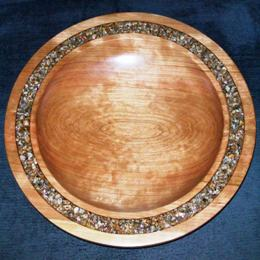 cherry and granite platter